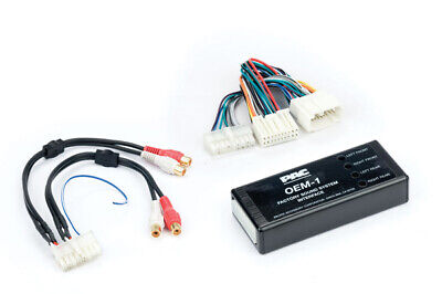 Pac AOEM-HON20 Amplifier Integration Interface For Honda W/ 4 Channel Rca Output