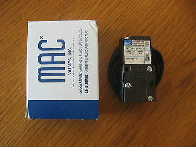 NEW Mac Valve 45A-AB1-DDAB-1BA Pneumatic Fluid Air Solenoid Valve 24VDC