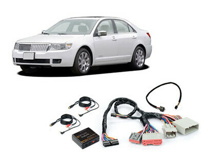 iSimple ISFD531 2005-2006 Lincoln Zephyr Dual Aux Audio Input For Factory Radio