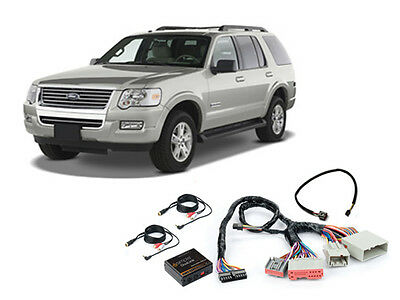 iSimple ISFD531 2006-2010 Ford Explorer Dual Aux Audio Input For Factory Radio