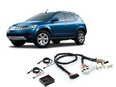 iSimple Isgm531 Fits Nissan 04-07 Murano Dual Aux Audio Input For Factory Radio