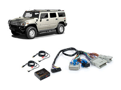 iSimple ISGM535 Hummer 2004-2007 H2 Dual Aux Audio Input Kit For Factory Radio