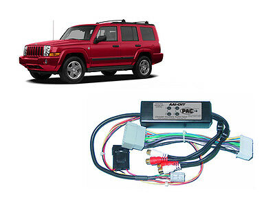 Pac AAI-CHY Jeep 2006-2007 Commander Dual Aux Audio Input Kit For Factory Radio