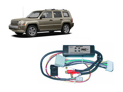 Pac AAI-CHY Jeep 2007-2008 Patriot Dual Aux Audio Input Kit For Factory Radio