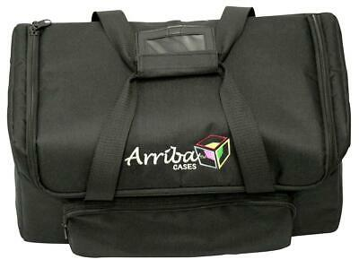 Arriba AC420 Extra Wide Mouth Freedom Par Fixture Padded Soft Transport Case