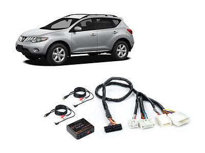 iSimple ISNI532 09-11 Fit Nissan Murano Dual Aux Audio Adapter For Factory Radio