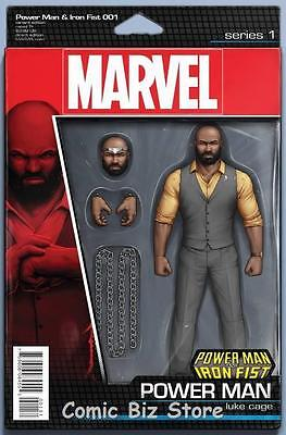 Power Man And Iron Fist #1 (2016) 1St Print Power Man Action Figure Variant Cvr