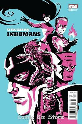 Uncanny Inhumans #5 (2016) 1St Printing Scarce 1:20 Cho Variant Cover
