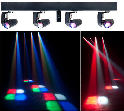 American DJ EVENT BAR Q4 4-Head 4-In-1 Quad LED Pinspot Light EVE565 - Closeout