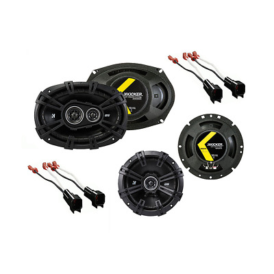 Fits Chevy Camaro 2010-2014 Factory Speaker Upgrade Kicker DSC67 DSC693 Package