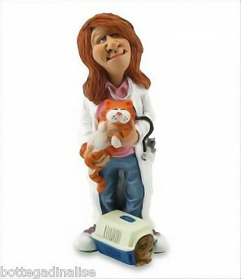 MESTIERI FUNNY COLLECTION LES ALPES - VETERINARIA 014 99511 Figure da Collezione