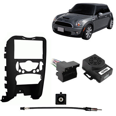 Fits Mini Cooper 2007-2008 Harness Radio Dash Kit - Excluding Convertible