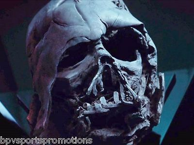 Darth Vader Star Wars The Force Awakens Melted Mask 8X10 Must See