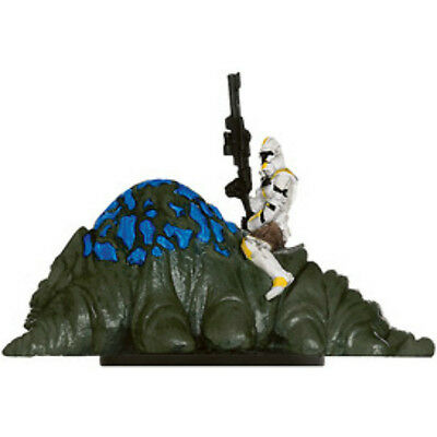 Clone Trooper on Gelagrub - Star Wars The Clone Wars Miniature Single Figure