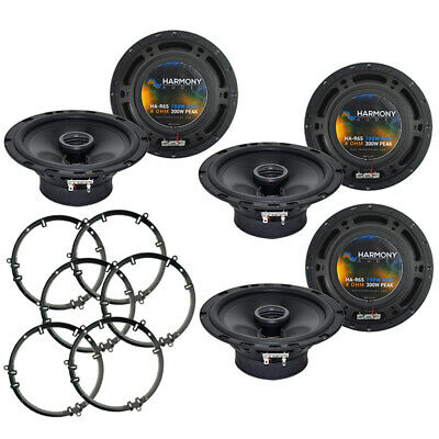 Volkswagen Jetta 2005-2014 Factory Speaker Upgrade Harmony (3) R65 Package New