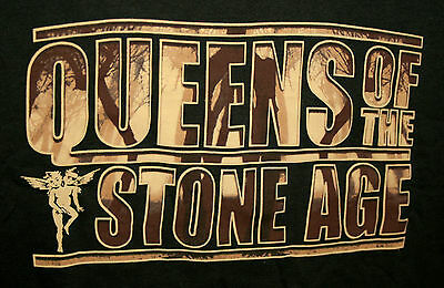 Vintage Queens Of the Stone Age Alternative Rock Concert T-Shirt New Sz Med