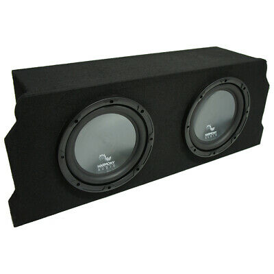 "2004-2008 Mazda RX-8 Coupe Harmony Audio R124 Dual 12"" Sub Box Enclosure Package"