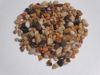 Fish tank aquarium terrarium natural gravel pebbles NATURAL COFFS 2kg AA315