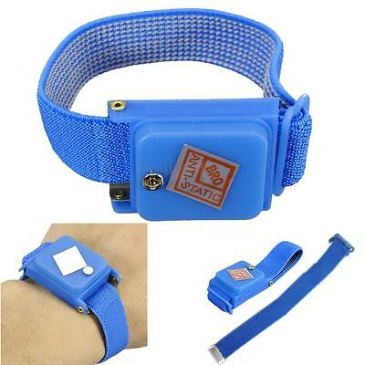 Cordless Anti Static Bracelet Electrostatic ESD Discharge Cable Belt Wrist Strap