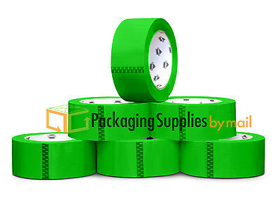 """36 Rolls Green Color Packing Tape 2"""" x 55 yds 2Mil Shipping Supplies Tapes"""