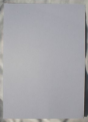 50 A4 sheets White Pearlescent Card
