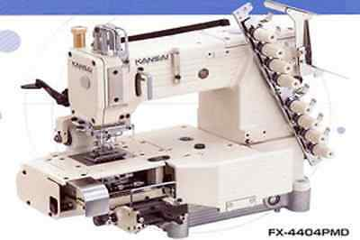 Kansai Special Fx4404Pmd 4 Needle Cylinder Double Chain Stitch Machine W/puller