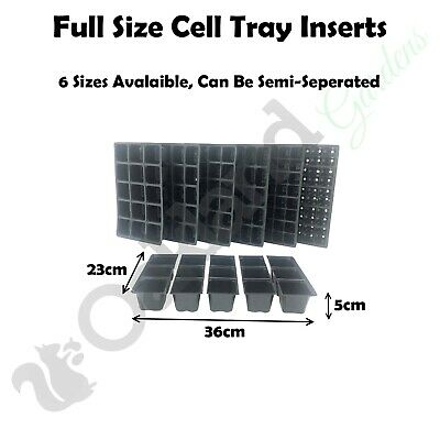 Full Size Cavity Inserts Cell Pack For Seed Tray Trays Bedding Mulit Cell