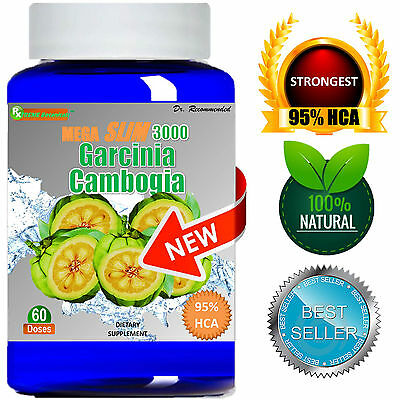 Pure Garcinia Cambogia Extract Mega 95% HCA Weight Loss Diet - Belly Burner Lean