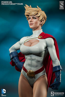 DC Comics Sideshow EXCLUSIVE POWER GIRL Statue New #729/1250