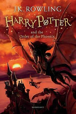 Harry Potter and the Order of the Phoenix by J.K. Rowling Paperback Book Free Sh