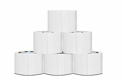 """24 Rolls White Color Packing Tape 3"""" x 55 Yards 2 Mil Shipping Supplies Tapes"""