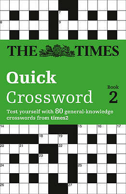 The Times T2 Crossword Book 2: Bk.2, Times2, The Times Mind Games, New