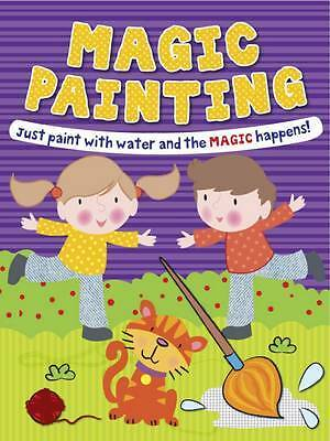 Magic Painting Boy & Girl: Just Paint with Water, Gemma Cooper, New