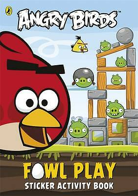 Angry Birds: Fowl Play Sticker Activity Book, aa vv, New