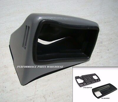 EDGE 98004 /& 18502 CTS DASH MOUNT /& POD ADAPTER 2005-2007 FORD F250-F350