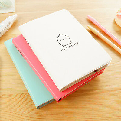 Molang Diary Weekly schedule Planner Agenda Notepad Notebook US Rabbit Kawaii