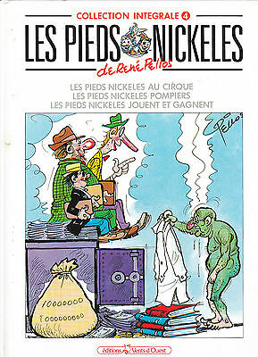 Les Pieds Nickeles / Collection Integrale / Rene Pellos /  Tome 4