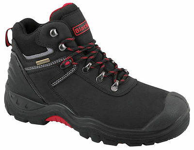 Blackrock Tempest Safety Boot UK Size 3 to 13 Mens Black Comfortable Work Boots