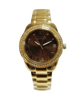 Liu Jo Orologio Watch Woman Uhr Donna Gold Giallo Marrone TLJ900 Princess  Romani 5440ba8f9ff
