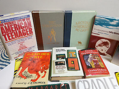 Novel Lot buy. Great Expectations, The Virginian, Catcher in the Rye, 18 books!