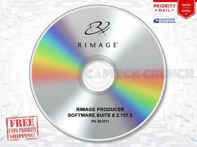 Rimage Producer Software Suite PSS 8.2.127.0 (Producer and Professional Series)