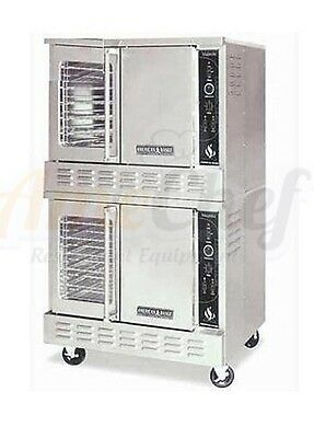 New Commercial Gas Oven, Full Size, Double Deck, American Range MSD-2G