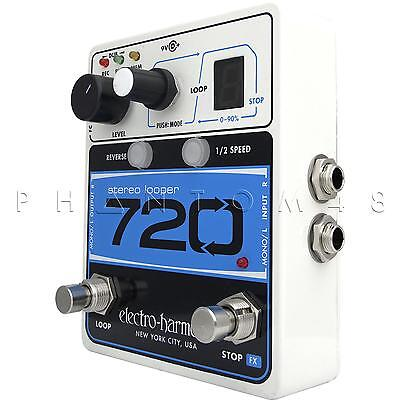 Electro-Harmonix 720 Stereo Looper Looping Instrument Effects Pedal - Brand NEW