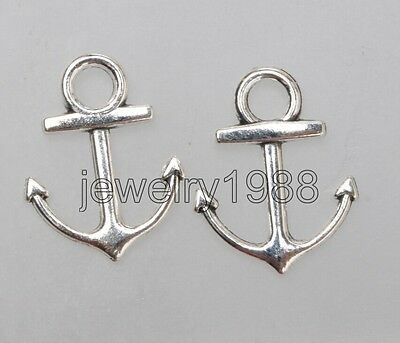 Wholesale 40pcs auspicious Tibet Silver two-sided skeleton Charm Pendant 25x10mm