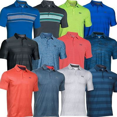 Under Armour 2016 Playoff Performance Funky Hommes Polo de Golf