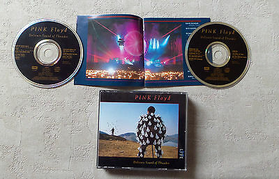 "Cd Audio Int/pink Floyd ""delicate Sound Of Thunder"" Live  2Xcd Album 1988 Emi"