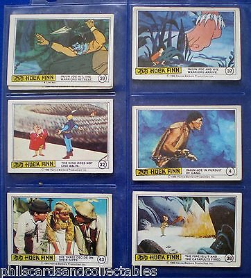 A&BC - Huck Finn  Bubblegum Cards * Choose The One's You Need *  1968