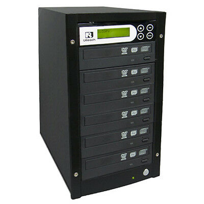 U-Reach 1-5 Target CD DVD Copier Duplicator Tower with Latest Drives