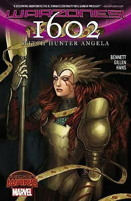 1602 Witch Hunter Angela by Marvel Comics (English) Paperback Book Free Shipping