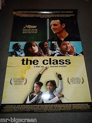 The Class - Original Ss Rolled Poster - 2008